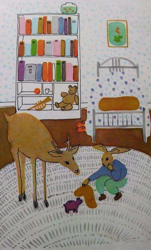The Messy Rabbit's neat bedroom