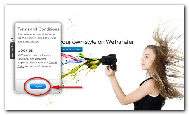 WeTransfer Agree